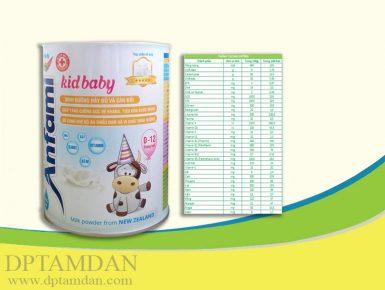 Sữa Anfami Kid Baby