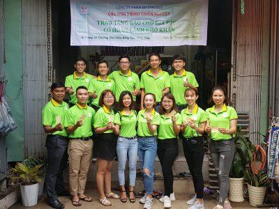 Hình ảnh DP Tâm Đan thiện nguyện tại Đồng Tháp 01/09/2019