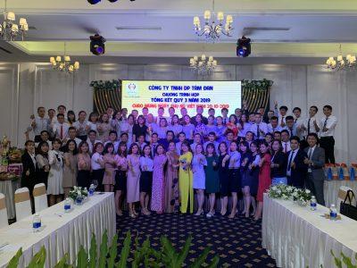Hình ảnh Hội nghị tổng kết quý III năm 2019 tại nhà hàng Bạch Kim