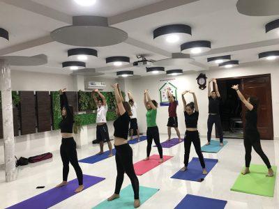 Hình ảnh CLB Yoga công ty DP Tâm Đan
