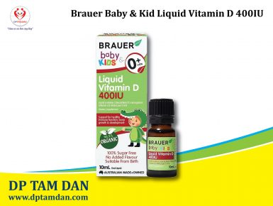 Brauer Baby & Kids Liquid Vitamin D 400IU