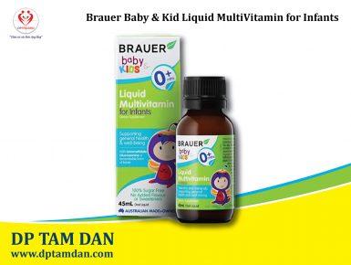 Brauer Baby Kids Liquid Multivitamin for Infants